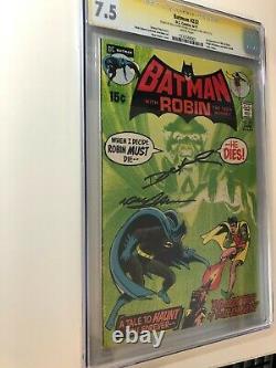1st Ras Al Ghul in Batman #232 CGC 7.5 Signature Series x 2 Adams & ONeil