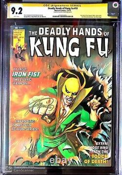 1st WHITE TIGER Ayala Deadly Hands of Kung-Fu 19 CGC 9.2 SS George Pérez MOVIE