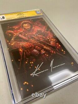 9.8 Cgc Signature Series Brzrkr 1 11000 Meyers Variant Keanu Reeves Boom
