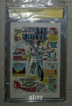 Amazing Spider-Man 129 CGC Signature Series 4.0 1st app of the Punisher Stan Lee