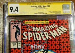Amazing Spider-Man #300 CGC graded 9.4 Signature series Todd McFarlane-Venom