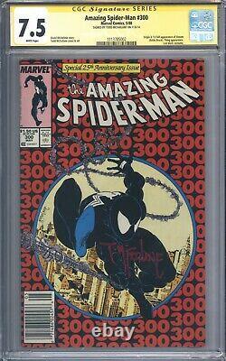 Amazing Spider-Man #300 Vol 1 CGC 7.5 Signature Series Todd McFarlane 1st Venom