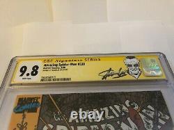 Amazing Spider-Man 330 SIGNED STAN LEE CGC 9.8 Signature Series rare