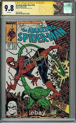 Amazing Spider-man #318 Cgc 9.8 Signature Series Signed By Todd Mcfarlane
