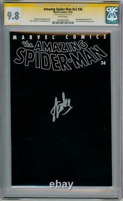Amazing Spider-man V2 #36 Cgc 9.8 Signature Series Stan Lee 9/11 Wtc Marvel
