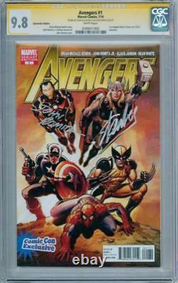 Avengers #1 La Con Variant Cgc 9.8 Signature Series Signed Stan Lee John Romita