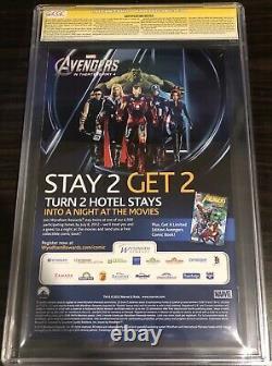 Avengers vs X-Men 1 CGC 9.8 SS 3x Diamond Sketch Stan Lee John Romita Jim Cheung