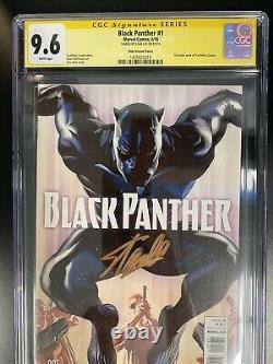 BLACK PANTHER #1 CGC 9.8 Alex Ross Variant 175 Stan Lee Signature Series