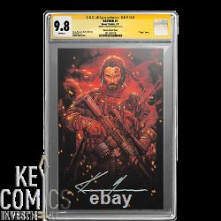 BRZRKR #1 11000 CGC SS 9.8, 1st print, Keanu Reeves Signature