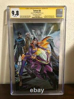 Batman #50 CGC Signature Series 9.8 Signed by J. Scott Campbell Batgirl