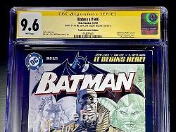 Batman #608 RRP CGC 9.6 3X Signature Series Jim Lee Loeb Williams RARE