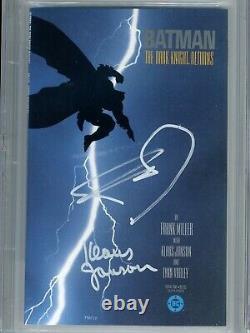 Batman The Dark Knight Returns 1 CGC 9.8 SS X2 1st print Miller Janson Superman