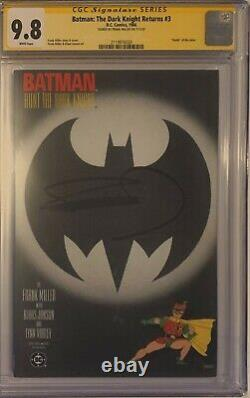 Batman The Dark Knight Returns 3 CGC 9.8 SS 1st print Miller Janson Superman WP