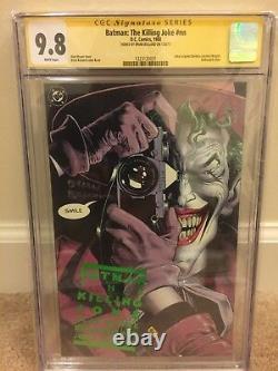 Batman The Killing Joke (1988, DC) CGC Signature Series 9.8
