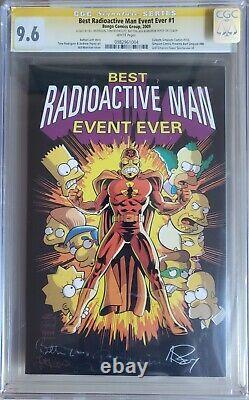 Best Radioactive Man Event Ever #1 CGC 9.6 SS Bongo Comics 2009 The Simpsons