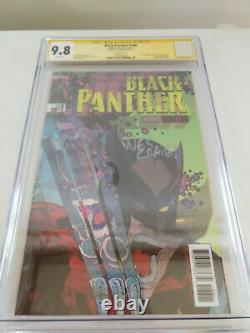 Black Panther #166/Incredible Hulk #340 CGC 9.8 SS Craig McFarlane Homage