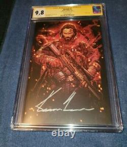 Brzrkr 1 Jonboy 11000 variant signed by Keanu Reeves CGC Signature Series 9.8