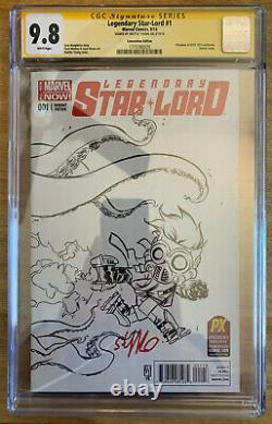 CGC 9.8 Legendary Star-Lord #1 Skottie Young Variant Signature Series