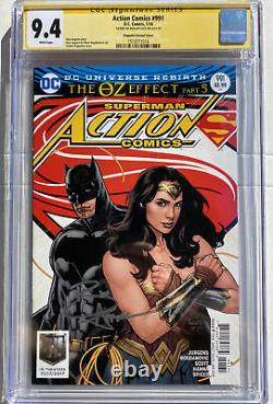 CGC Signature Series Action Comics #991 9.4 Signed By Ben Affleck Paquette Cover