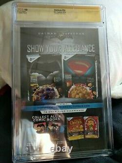 CGC Signature Series Batman #50 Signed By Ben Affleck 9.8