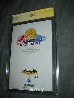 DC Comics Batman 50 Cgc Signature Series 9.8 White J Scott Campbell