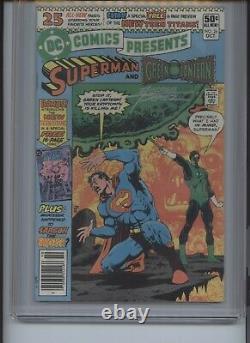 DC Comics Presents #26 CGC 9.4 Signature Series George Perez
