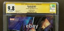 Daredevil #612 Variant 1100 Cgc Signature Series 9.8 Signed J. Scott Campbell