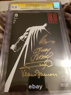 Dark Knight III Master Race #1 Frank Miller Signature Series CGC 9.8