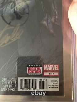 Death of Wolverine #4 CGC 9.8 Signature Signed STAN LEE On Release 1st Day Issue