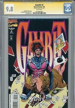 Gambit 1993 2 CGC 9.8 SS Stan Lee Weeks Mackie Rogue X-Men Wolverine 8 on census