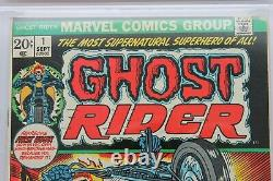 Ghost Rider #1 FN/VF 7.0 (Marvel) CGC Signature Series Signed Stan Lee
