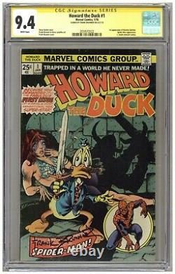 Howard the Duck #1 (CGC Signature Series 9.4) 1st Beverly Switzler Brunner A440