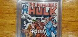 Incredible Hulk #330 CGC 9.6 SS SIGNATURE SERIES STAN LEE 1ST MCFARLANE HULK
