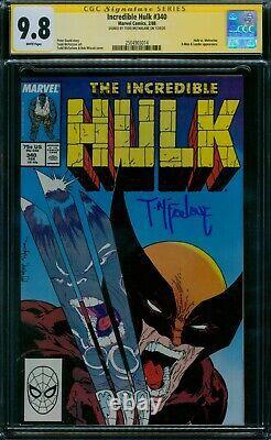 Incredible Hulk 340 CGC 9.8 Todd McFarlane Signature Series