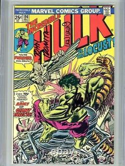 Incredible Hulk Vol 1 194 CGC 9.8 SS X3 Stan Lee Wein Romita Highest on census