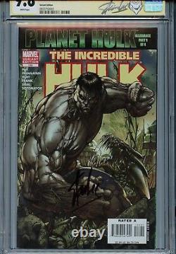 Incredible Hulk Vol 2 100 CGC 9.8 SS Gray variant Stan Lee Turner Pak Planet