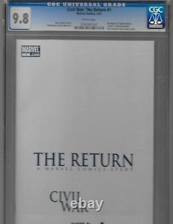 Marvel Comics Bundle Civil War CGC Various Series One Books Grades & Signatures