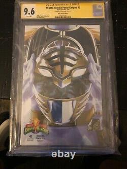 Mighty Morphin Power Rangers #0 CGC 9.6 Signature Series WHITE RANGER Variant