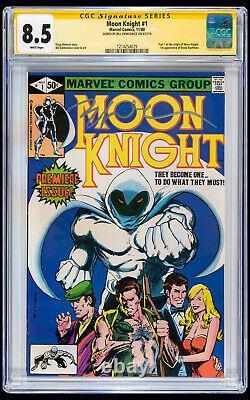 Moon Knight #1 CGC VF+ 8.5 Bill Sienkiewicz Signature Series