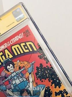 Omega Men 3 CGC 9.4 signature Series 1st Appearance LOBO signed by Keith Giffen