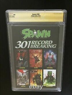 SIGNED Spawn #300 GOLD foil CGC 9.8 SS Todd McFarlane NYCC signature series NM