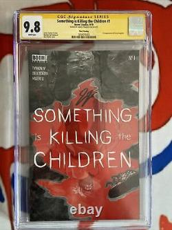 Something Is Killing The Children #1 3rd Print CGC 9.8 Signature Series SS