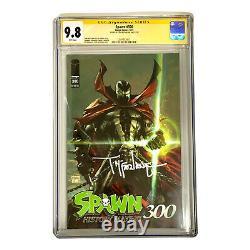 Spawn #300 CGC 9.8 SS Signature Series Signed Todd McFarlane