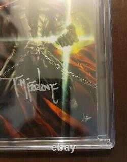 Spawn #300 CGC Signature Series 9.8 Virgin Cover L Signed By Todd McFarlane