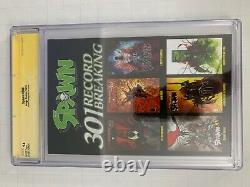 Spawn #300 NYCC GOLD foil variant CGC 9.8 SS signature series Signed McFarlane