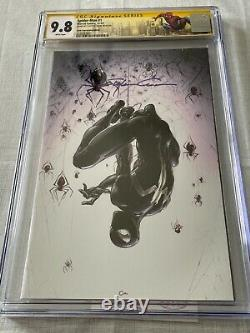 Spider-Man #1 Clayton Crain NYCC Virgin Variant Ltd 600 Signature Series CGC 9.8
