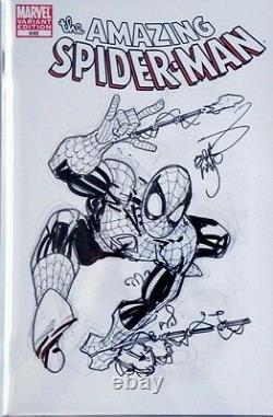 Spider-man Venom Original Art Sketch Cover Erik Larsen CGC Signature Series 9.8