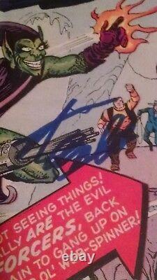 Stan Lee signed Amazing Spider-Man #14 CGC 3.0 signature series 1st Green Goblin