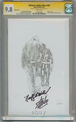 Ultimate Spider-man #160 Variant Cgc 9.8 Signature Series Stan Lee Nuff Said