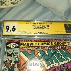 Uncanny X-Men #150 CGC Signature Series 9.6 NM+ Signed By Chris Claremont